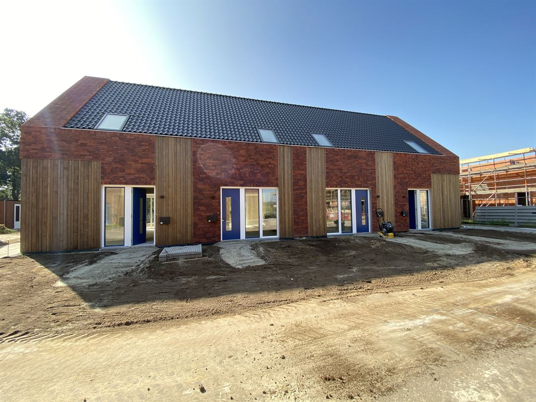BrickStrip nieuwbouw Norg Strijker Groep
